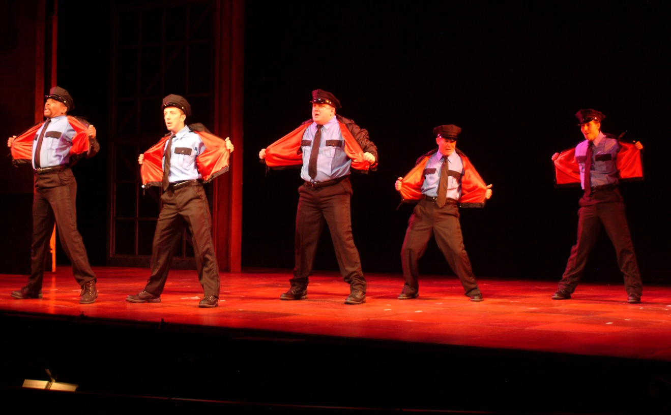 The Full Monty at Riverside Theatre