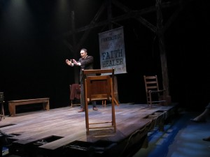 "Colin Lane as Frank Hardy in ""Faith Healer"" at Riverside Theatre, Vero Beach, FL."