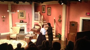 """The Heiress"" at Melbourne Civic Theatre, with Tracey Thompson and Alfie Silva"