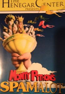 "The Henegar Center presents Monty Python's ""Spamalot"""
