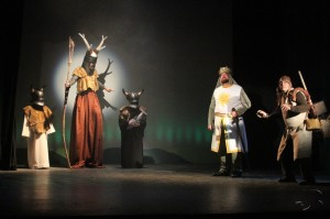 "Titusville Playhouse presents Monty Python's ""Spamalot."""