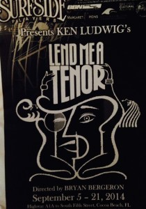 Surfside Players 'Lend Me a Tenor'