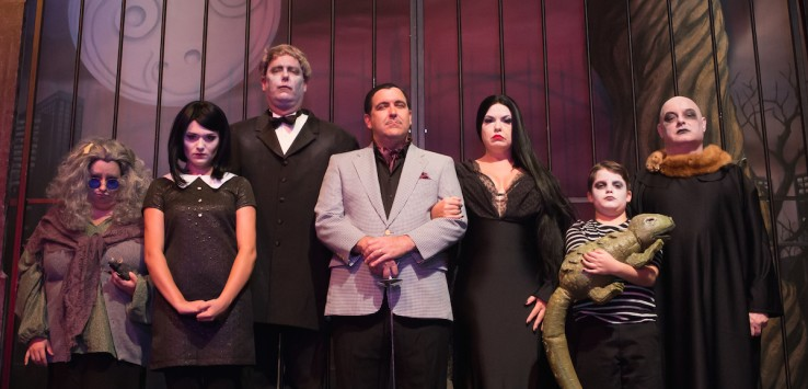 The Henegar's 'The Addams Family'. Photo by Dana Niemeier.