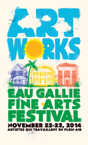 ArtWorks 2014 poster is by Ryan Speer