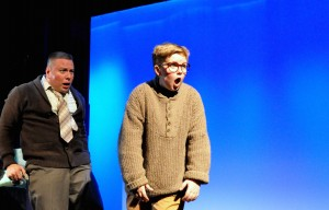 Paul Padilla & Elijah McGough in 'A Christmas Story: The Musical' at Titusville Playhouse