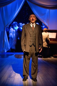 "Nicholas Wuehrmann as Gabriel Conroy in Mad Cow Theatre's ""James Joyce's The Dead."" Photo by Tom Hurst Photography"