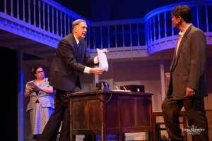 Leslie McGinty, Steven Wolf and David Baum in the Henegar's 'A Wonderful Life' photo by Dana Niemeier