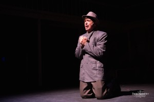 "David Baum as George Bailey in ""A Wonderful Life"" Photo by Dana Niemeier"