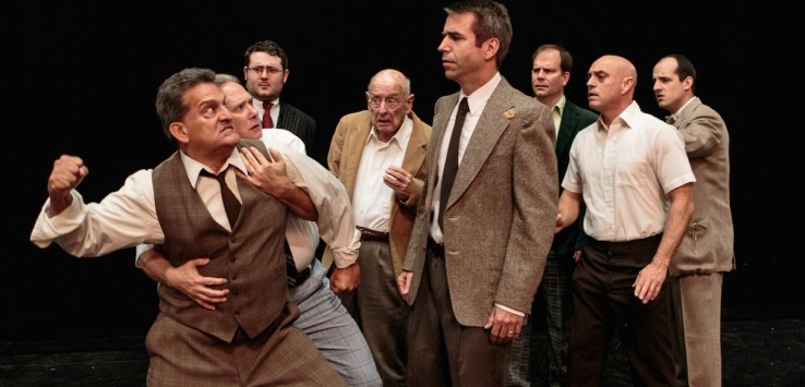 From 'Twelve Angry Men' at Cocoa Village Playhouse. Photo by Jonathan Goforth.