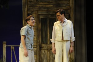 Josh Lefkowitz and Warren Kelly in Orlando Shakespeare Theatre's 'To Kill a Mockingbird.' Photo by Tony Firiollo.
