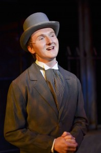Mitchel Burns as 'Freddy' in Cocoa Village Playhouse's 'My Fair Lady'