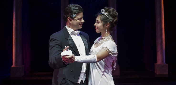 Jonathan Goforth and Eliana Berrean in Cocoa Village Playhouse's 'My Fair Lady'