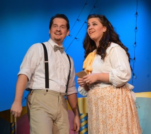 Kyle McDonald and Keisha Marie Gill in 'Carousel' at Titusville Playhouse