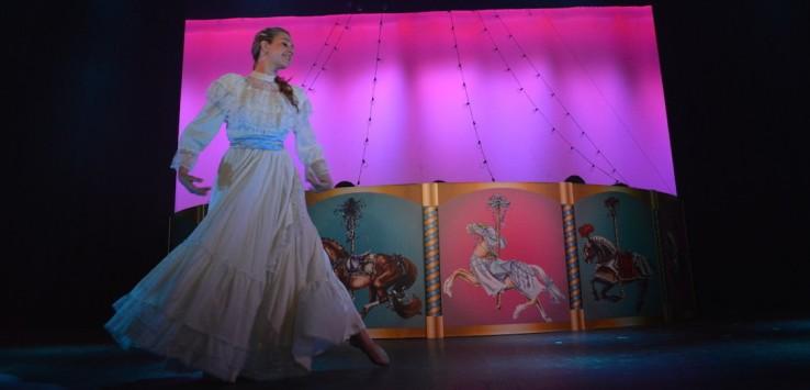 Rachel Erickson in 'Carousel' at Titusville Playhousel