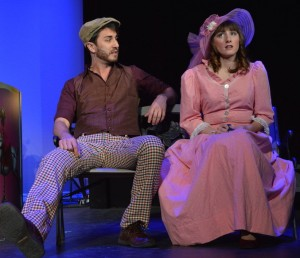 Alexander Browne and Sarah Camp in 'Carousel' at Titusville Playhouse.