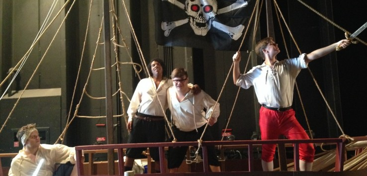 'Pirates of Penzance' at Eau Gallie High School