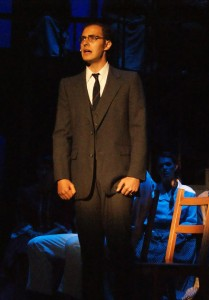 Alexander Nathan as Leo Frank in TPI's productionof 'Parade'