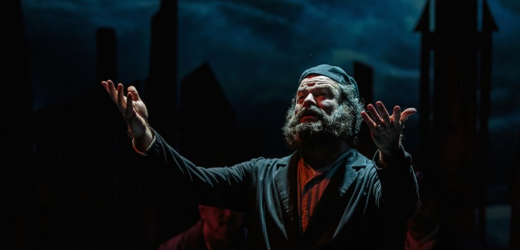 Jeffrey Hoy in Cocoa Village Playhouse productionof 'Fiddler on the Roof,' photo by Goforth Photography