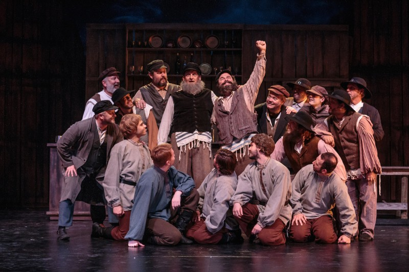Jeffrey Hoy as Tevye in Cocoa Village Playhouse production of 'Fiddler on the Roof,'  photo by Goforth Photography