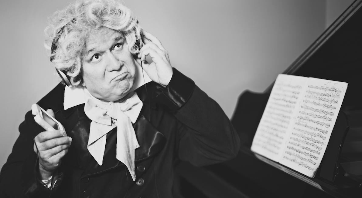 Terrence Girard at Ludwig van Beethoven. Photo by Dana Niemeier.
