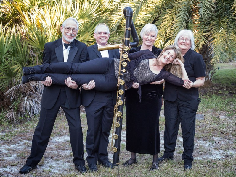 Some members of the Space Coast Flute Orchestras