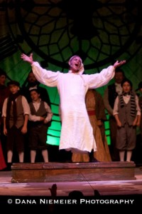 Michael Thompson as Scrooge in 'Scrooge: The Musical' at the Henegar Center