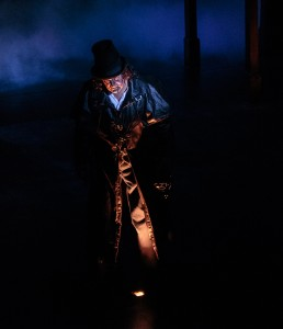 Rick Roach as Jack the Ripper in 'Sherlock in Love' at Cocoa Village Playhouse. Photo by  Amy Goforth.
