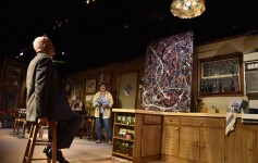 Orlando Shakespeare Theatre production of 'Bakersfield Mist' with Anne Hering and Steve Brady. Photo by Tony Firriolo