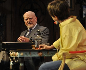 Steve Brady in 'Bakersfield Mist' at Orlando Shakespeare Theatre. Photo by Tony Firriolo