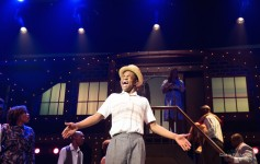 Bobby Postell as 'Gator' in the musical 'Memphis' at the Henegar Center. Photo by Dana Neimeier