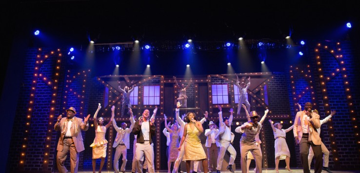 Cast of 'Memphis' at the Henegar Center. Photo by Dana Niemeier