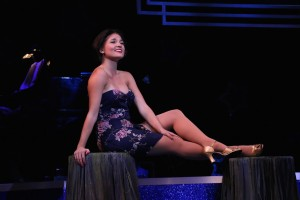 Mary Little in 'Swinging on a Star' at Riverside Theatre