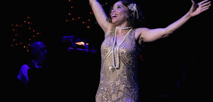 Debra Walton in 'Swinging on a Star' at Riverside Theatre.