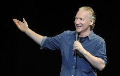 LAS VEGAS, NV - MARCH 23:  Television host and comedian Bill Maher performs at The Pearl concert theater at the Palms Casino Resort on March 23, 2013 in Las Vegas, Nevada.  (Photo by David Becker/WireImage)