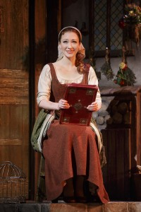Kaitlyn Davidson from the Rodgers + Hammerstein's CINDERELLA tour. Photo by Carol Rosegg