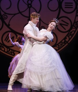 Kaitlyn Davidson and Andy Huntington Jones from the Rodgers + Hammerstein's CINDERELLA tour. Photo by Carol Rosegg
