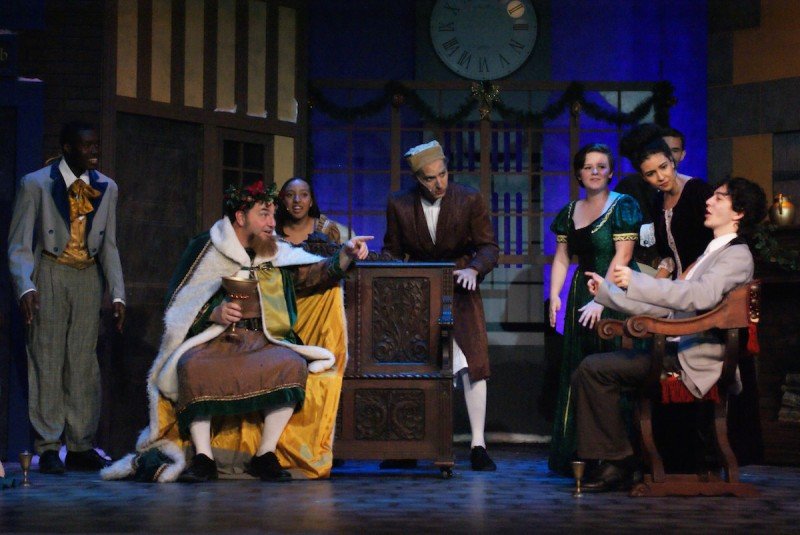 Titusville Playhouse's 'Scrooge the Musical' photo by Doug Lebo