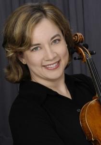 Violinist Lisa Ferrigno