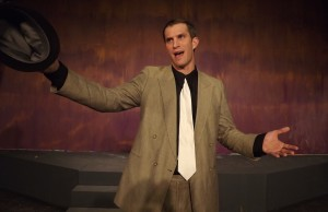 "Damon Dennin as Sky Masterson in Surfside Players' production of ""Guys and Dolls"""