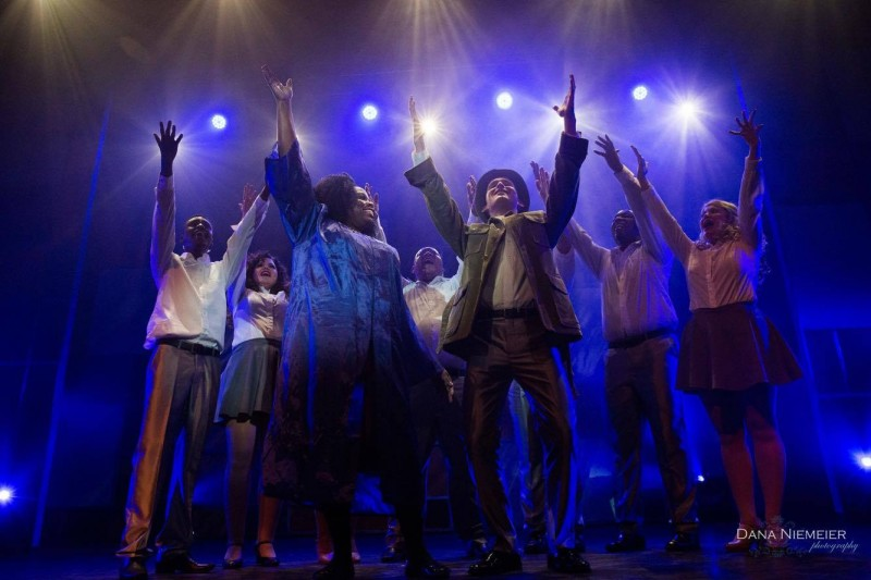 Smokey Joe's Cafe at the Henegar Center. Photo by Dana Niemeier
