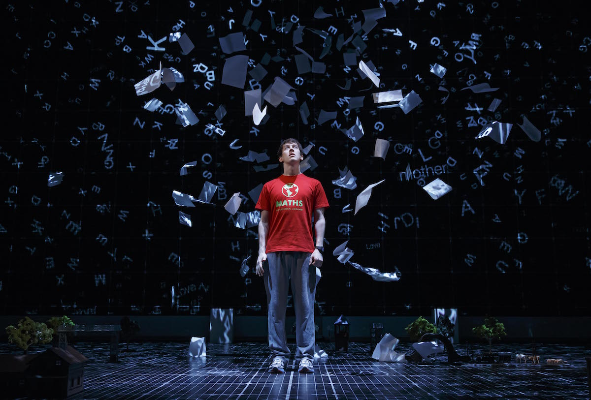The National Theatre production of THE CURIOUS INCIDENT OF THE DOG IN THE NIGHT-TIME. Photo by Joan Marcus, 2014