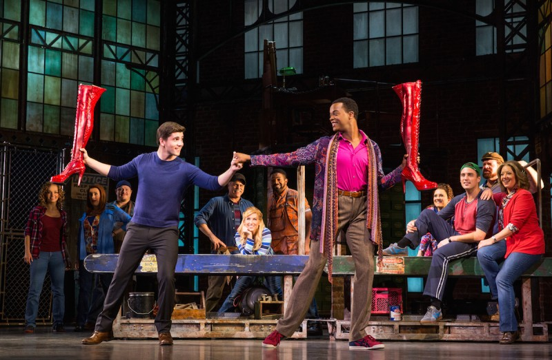 Kinky Boots National Touring Company. Photo: Matthew Murphy.