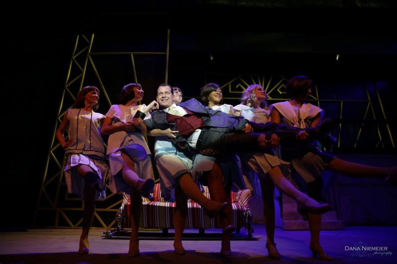 """""""Nice Work If You Can Get It"""" at the Henegar Center. Photo by Dana Niemeier"""