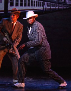 "Walter Johnson as Spatz in Cocoa Village Playhouse production of ""Sugar,"" photo by Goforth Photography"
