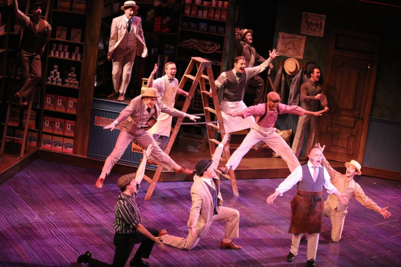"James Brennan directs and choreographers Riverside Theatre's production of ""Hello, Dolly!"""