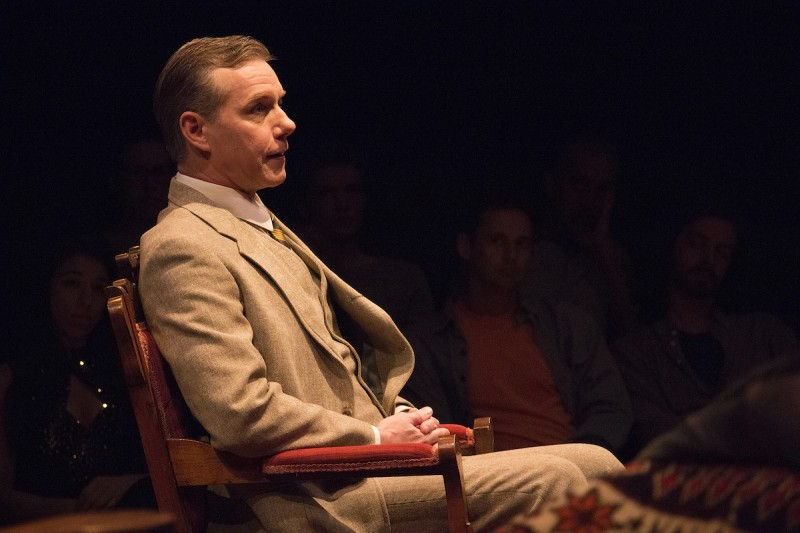 "David Schmittou as C.S. Lewis in ""Freud's Last Session"" at Riverside Theatre."