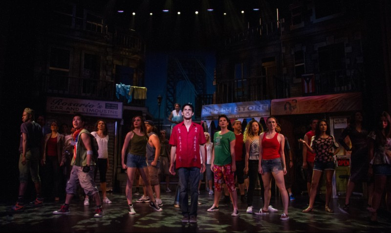"'In the Heights"" at Cocoa Village Playhouse. Photo by Jonathan Goforth"