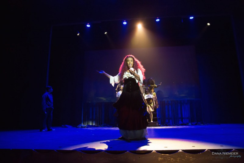 "Shara Kyles in Henegar Center production of ""Big Fish."" Photo by Dana Niemeier"