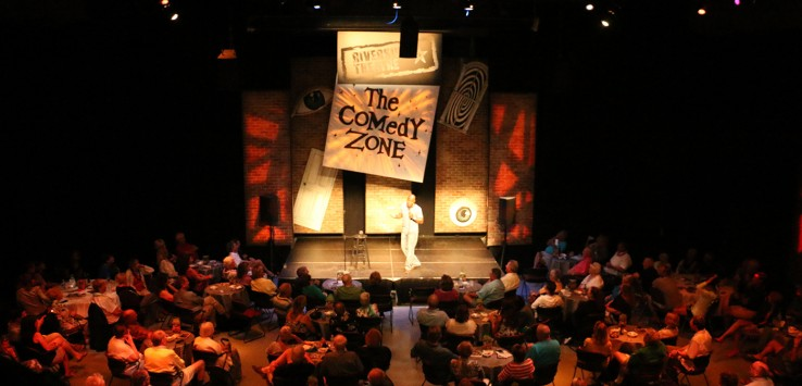 Comedy Zone at Riverside Theatre in Vero Beach.