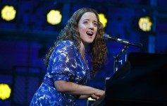 "Abby Mueller in ""BEAUTIFUL – The Carole King Musical."" Photo by Joan Marcus"
